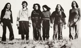 photo from poster for campaign no year but a life for women 1975