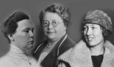 founders of international archives for the women's movement johanna naber, rosa manus and Willemijn Posthumus-van der Goot