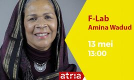 f-lab with amina wadud at atria