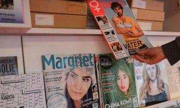 magazines in atria collection