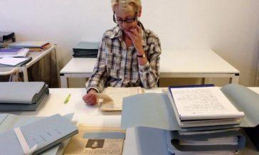 archivist atria working archives collection atria