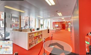 360 library atria in amsterdam, the netherlands