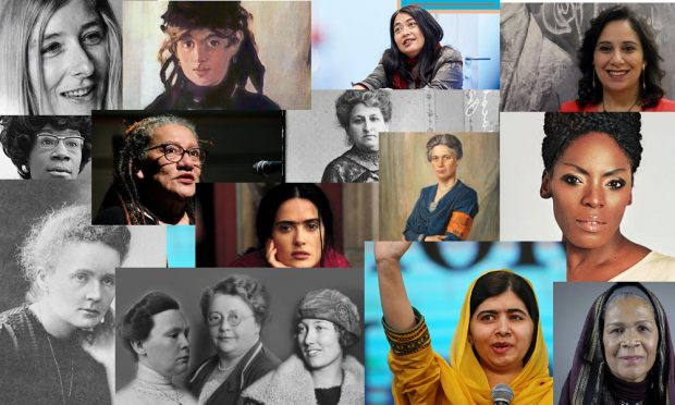 selection of extraordinairy women on atria's website