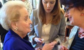 madeleine albright and renee romkens