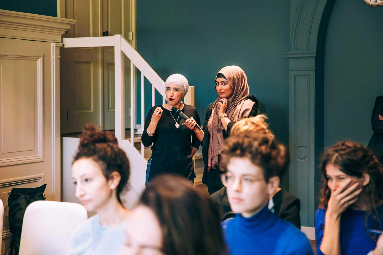 F-lab with Seyran Ates photographer Jaap Beyleveld