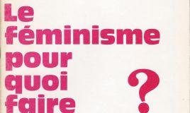Féminitude et féminisme