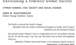 Envisioning a Feminist Global Society Cypriot Women, Civil Society and Social Change