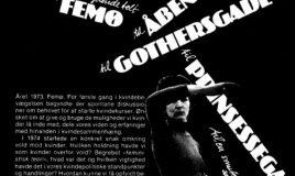 Fra et sydende telt på Femø, til Åbenrå, til Prinsessegade, til Gothersgade, til en smuk sal på Danner
