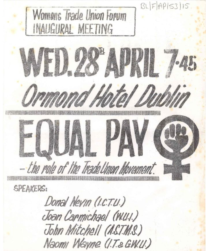 Poster - Women's Trade Union Forum