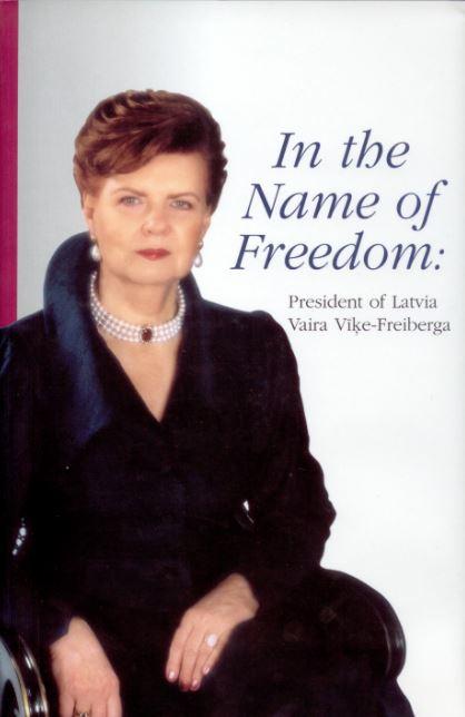 Latvijas prezidente Vaira Vīķe-Freiberga
