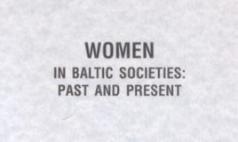 Changing gender identity as a challenge to political space: is it the case in Latvia?