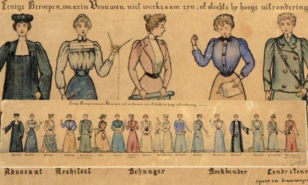 beroepen waarin vrouwen niet werkzaam zijn uit de collectie van Atria