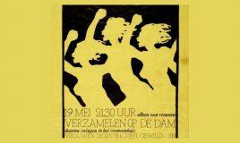 geweld tegen vrouwen affiche demonstratie collectie Atria
