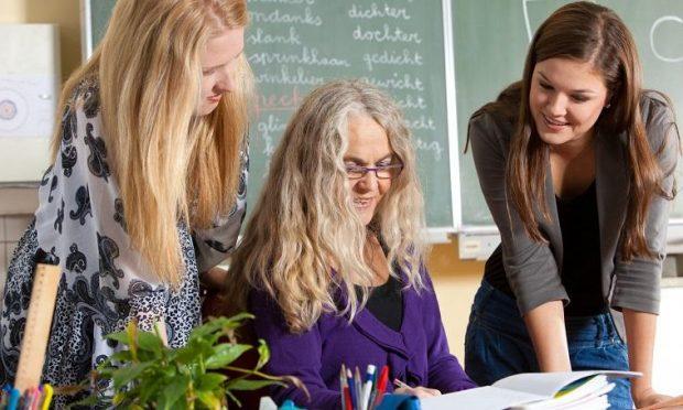 onderwijs lerares en scholieren fotograaf Simone van den Berg