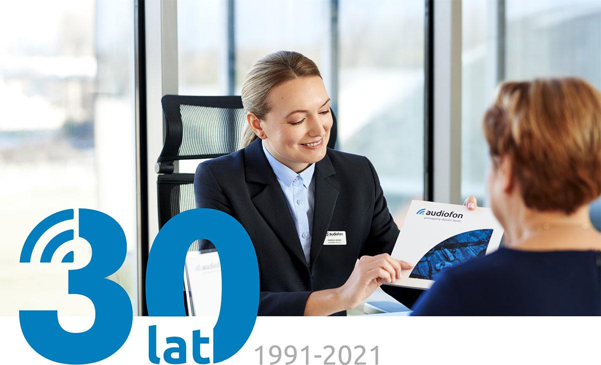 30 lat Audiofon, 1991-2021