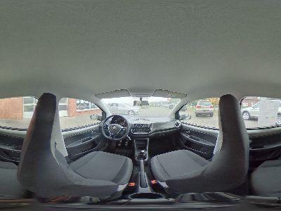 360° Innenansicht Volkswagen up!      move 1.0 / Bluetooth Sitzheizung