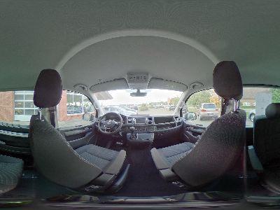 360° Innenansicht Volkswagen T6 Multivan      2.0 TDI DSG / Voll LED Navi Sitzheizung