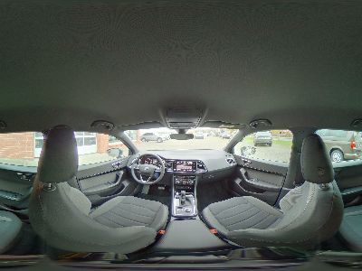 360° Innenansicht Seat Ateca      Xcellence 1.5 TSI DSG / AHK Blind Spot DAB