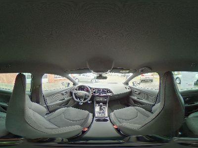 360° Innenansicht Seat Leon ST      Cupra R 2.0 TSI DSG 300 4x4 / Navi Plus