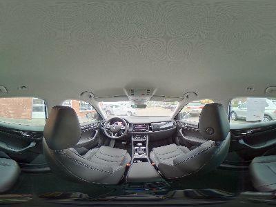 360° Innenansicht Skoda Kodiaq      Style 2.0 TSI DSG 4x4 / AHK Side Assist Leder
