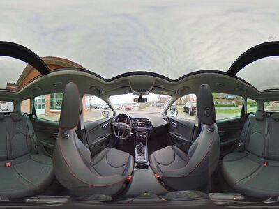 360° Innenansicht Seat Leon ST      1.5 TSI / Navi LED Panoramadach