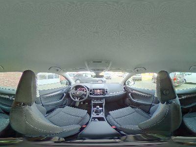 360° Innenansicht Skoda Karoq      Style 1.5 TSI / Navi AHK Blind Spot