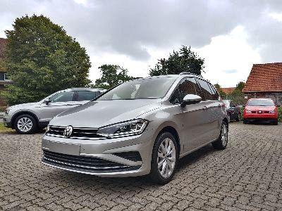 360° Außenansicht Volkswagen Golf Sportsvan      Comfortline 1.5 TSI / ergoActive Navi LED