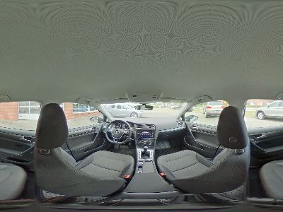 360° Innenansicht Volkswagen Golf      Comfortline 1.4 TSI / LED Navi Sitzheizung