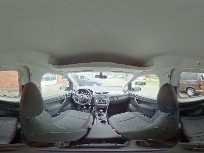 360° Innenansicht Volkswagen Caddy      Trendline 1.4 TSI / Xenon Navi