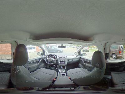 360° Innenansicht Volkswagen Caddy      Trendline 1.4 TSI DSG / Xenon Navi