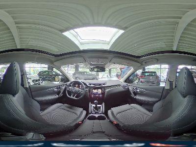 Nissan Qashqai Tekna/ Teilleder/ Pano/ Shz vorne/ PDC