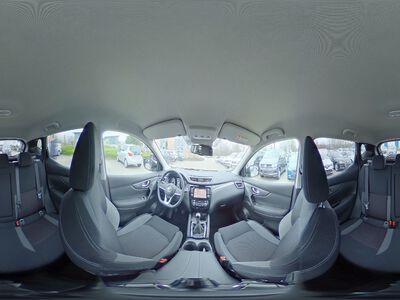 360° Innenansicht Nissan Qashqai      N-Connecta - Navi/ Klimaaut./ Around View Monitor