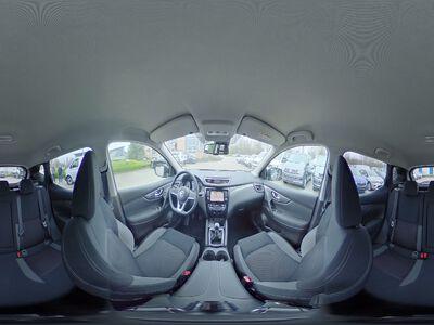360° Innenansicht Nissan Qashqai      N-Connecta - Alu| Navi|Klima