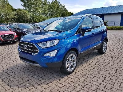 Ford EcoSport Titanium PDC/KAMERA/SHZ