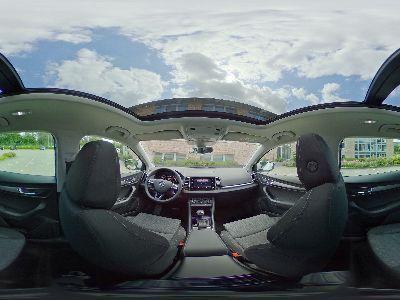 360° Innenansicht Skoda Karoq      Style - LED/ACC/PANORAMADACH