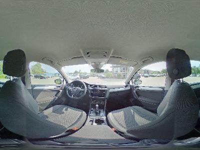 360° Innenansicht Volkswagen Tiguan      Comfortline -ACC/NAVI/CLIMATRONIC