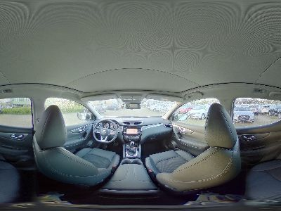 360° Innenansicht Nissan Qashqai      Tekna - NAVI/BOSE/KAMERA