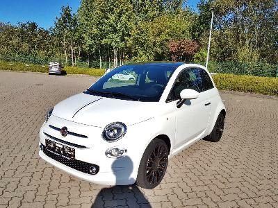 360° Außenansicht Fiat 500      120 Klimaautomatik/ALU/U-Connect