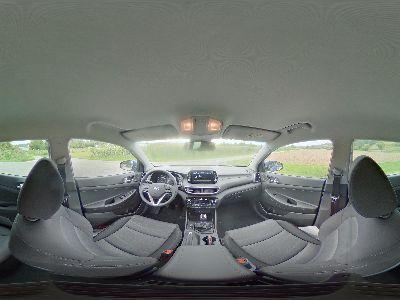 360° Innenansicht Hyundai Tucson      Face Navi Kamera PDC Alu-17 SHZ