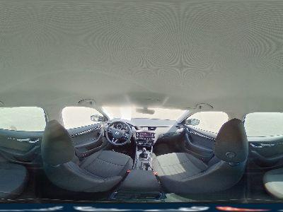 360° Innenansicht Skoda Octavia Combi      Style 1.5 TSI DSG Full LED Navi Alu PDC DAB