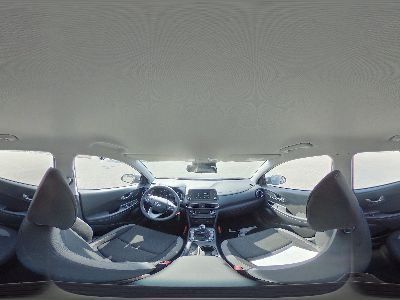 360° Innenansicht Hyundai Kona      Trend Climatr Alu PDC Kam Navi Apple DAB