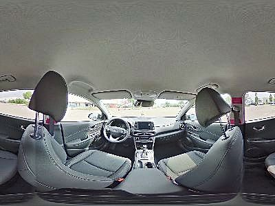 360° Innenansicht Hyundai Kona      1,6 Premium AT Voll LED/Leder/Navi/Krell/Head-Up