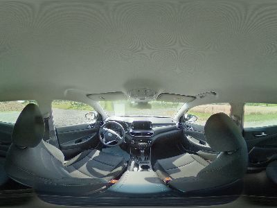 360° Innenansicht Hyundai Tucson      Face DCT Voll-LED KlimAuto Navi Kamera DAB SHZ