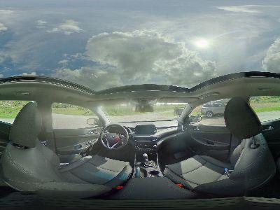 360° Innenansicht Hyundai Tucson      Face Voll-LED KlimAu Leder Navi Kamera Pano DAB