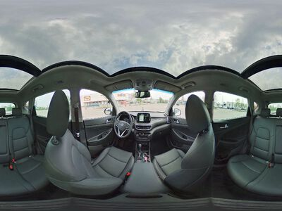 360° Innenansicht Hyundai Tucson      Face DCT Trend Pano Leder 19 Zoll Navi Voll-LED