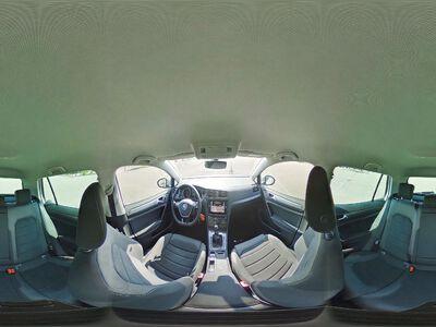 360° Innenansicht Volkswagen Golf      Maraton Edition 1,5 TSI OPF Navi/Alu/Voll LED/Ergo/PDC