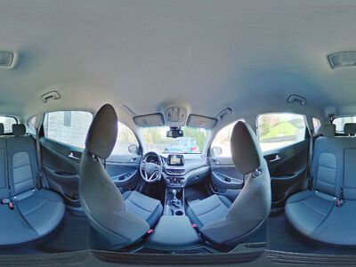 360° Innenansicht Hyundai Tucson      Face KlimAuto Navi Kamera DAB SHZ