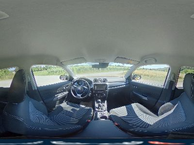 360° Innenansicht Suzuki Vitara      Comfort 1.4 BJET 140 Klimaaut. Navi Kamera SHZ Temp