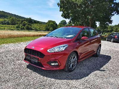 360° Außenansicht Ford Fiesta 5-Türer      ST-Line EB/7J Gar/Navi/Appli/PDC/SHZ/ EB/Klimaaut/7JG/Navi/B&O/PDC/WP/