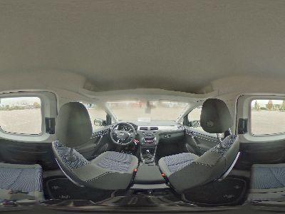 360° Innenansicht Volkswagen Caddy      1,4 TSI Navi/APPCO/Alu/2xPDC/WP/ParkAss